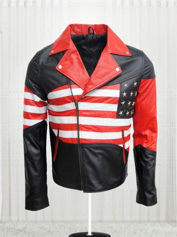 Amazing American Flag Cow Jacket