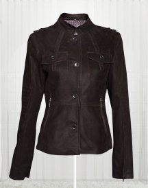 Women's Biker Stylish Black Cow Leather Jacket
