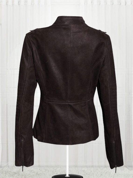 Women's Biker Stylish Black Cow Leather Jackets