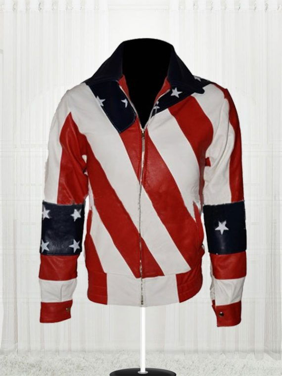 Womens American Flag Jackets