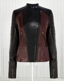 Women's Brando High Quality Biker Leather Jacket