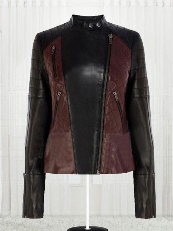 Women's Brando High Quality Biker Leather Jacket
