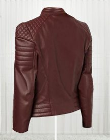 Women's Designer New Fashionable Brown Leather Jackets