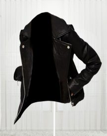 Women's Slim Fit Biker Black Stylish Jacket