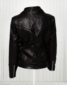Women's Slim Fit Biker Black Stylish Jackets