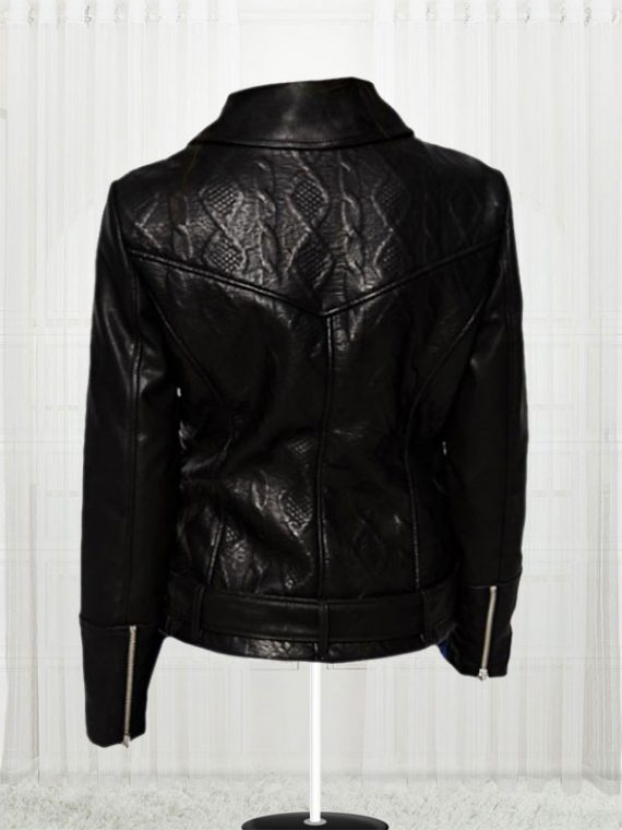 Women's Slim Fit Biker Black Stylish Jackets