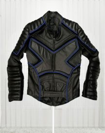 X Men Black Biker Leather Jacket