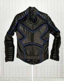 X Men Black Biker Leather Jacket