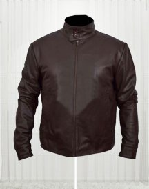 X men First Class Megento Brown Leather Jacket