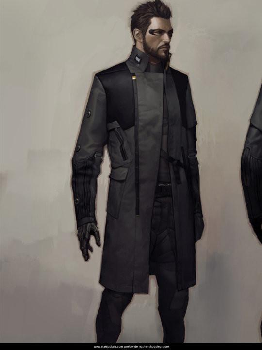 Adam Jensen Coat in Movie Ex Mankind Divided