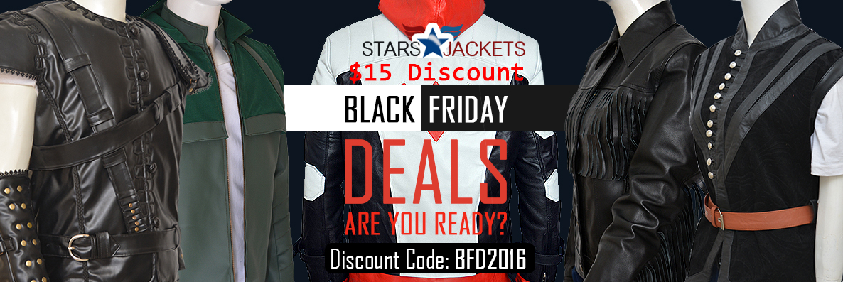 Black Friday 2016 $15 Discount on all Jackets