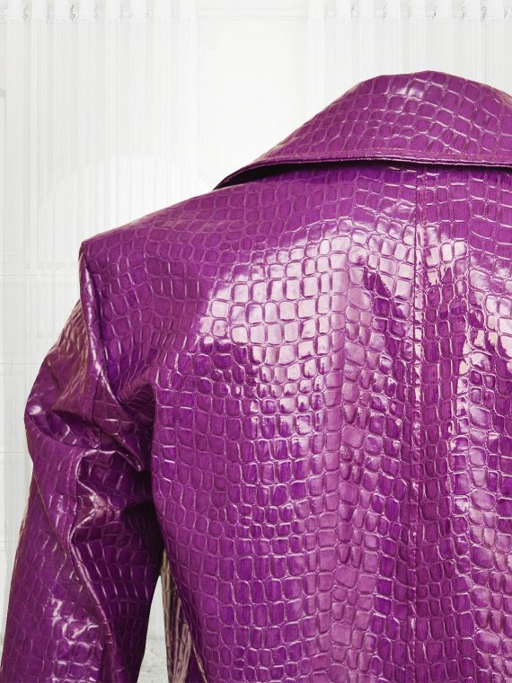 Jared Leto Suicide Squad Joker Crocodile Men Coat