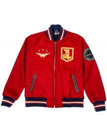 Justice league Wonder Women Varsity Style letterman Jacket