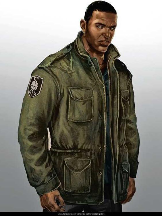 Lincoln Clay Game Mafia III Jacket