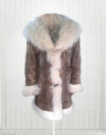 Vin Diesel Xander xXx Cage 2002 Fur Brown Coat