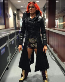WWE Becky Lynch Leather Coat