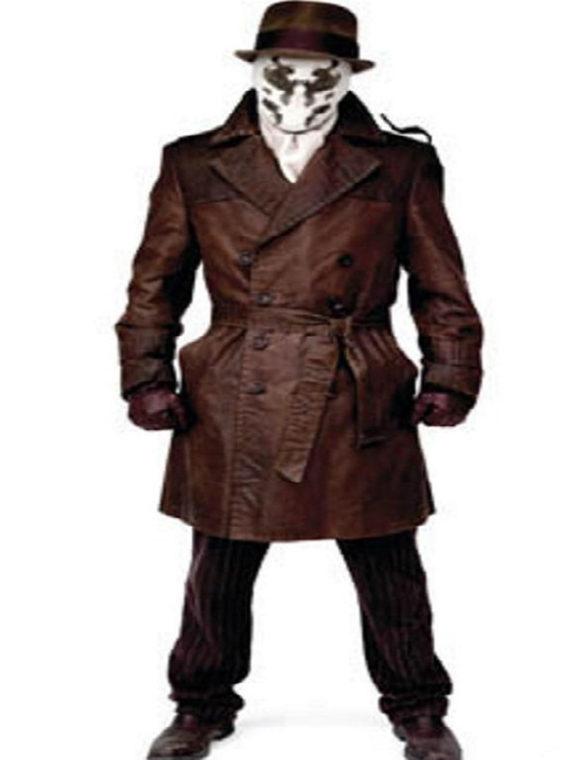 Watchmen Jackie Earle Haley Brown Coat