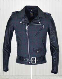 Wool-Genuine Cowhide Leather Jacket
