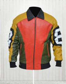 8 Ball Michael Hoban Vintage Bomber Jacket