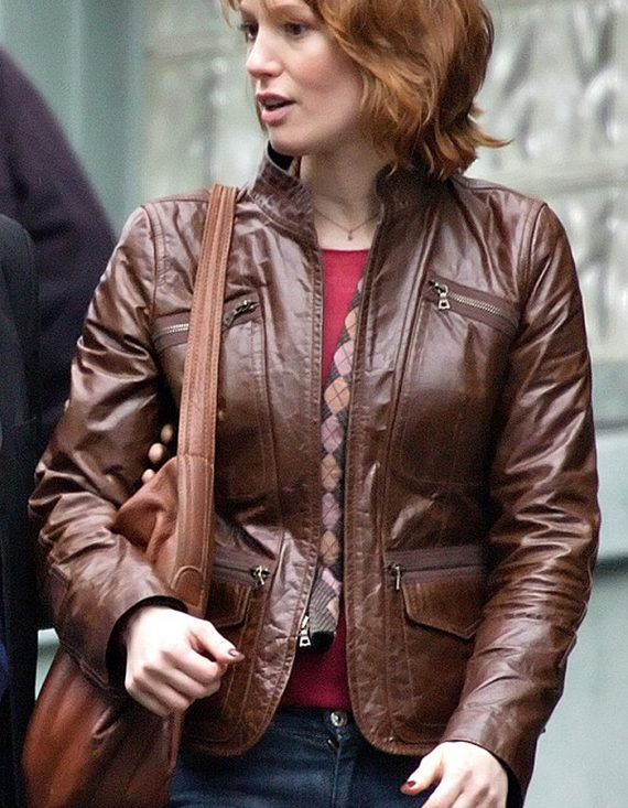 88 Minutes Movie Alicia Witt Leather Jackets