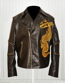 Adewale Suicide Squad Killer Croc Dragon Jacket