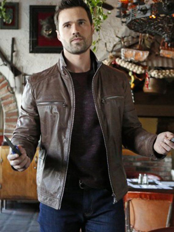 Agents of Shield Grant Warren Leather Jacket