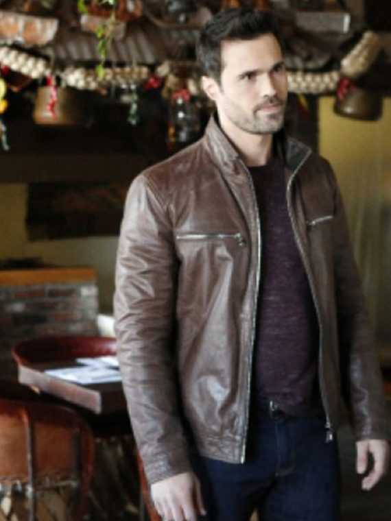 Agents of Shield Grant Warren Leather Jackets