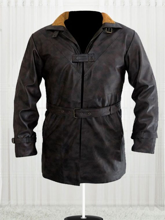 Aiden Pearce Watch Dogs Distressed Brown Coat