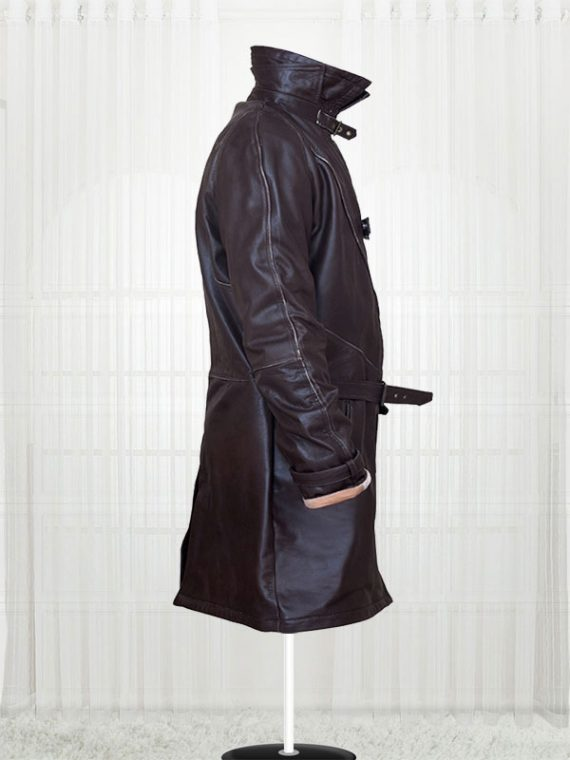 Aiden Pearce Watch Dogs Distressed Brown Coat Jackets