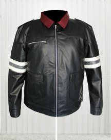 Alex Mercer Prototype Black Color Leather Jacket