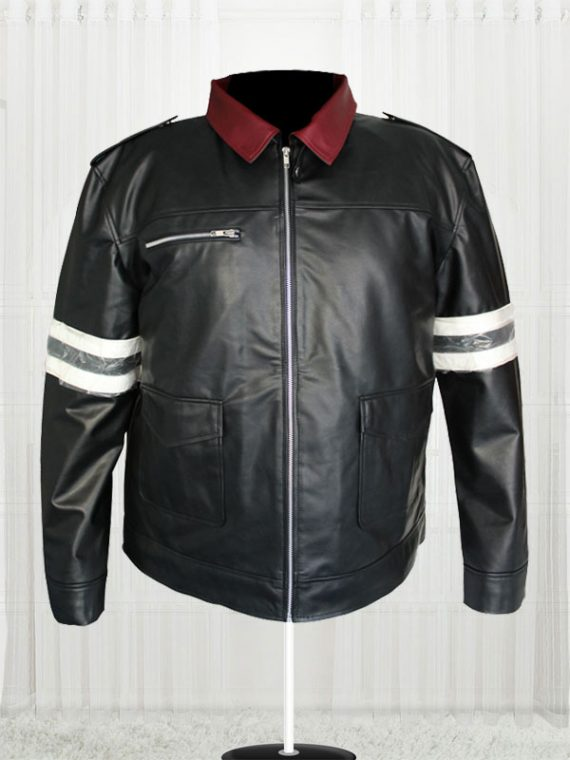 Alex Mercer Prototype Black Color Leather Jacket