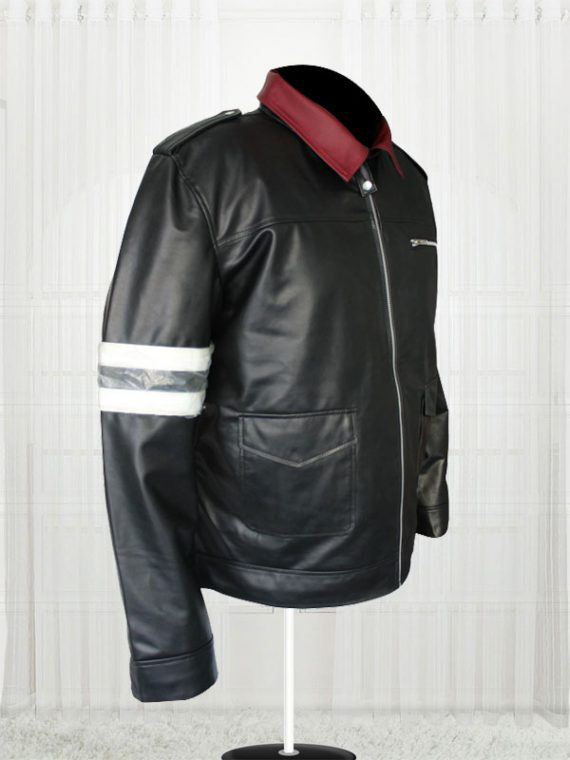 Alex Mercer Prototype Black Leather Jacket