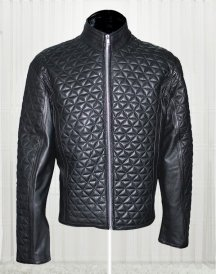 Alexander Skarsgard Stylish Leather Jacket From True Blood Season 4