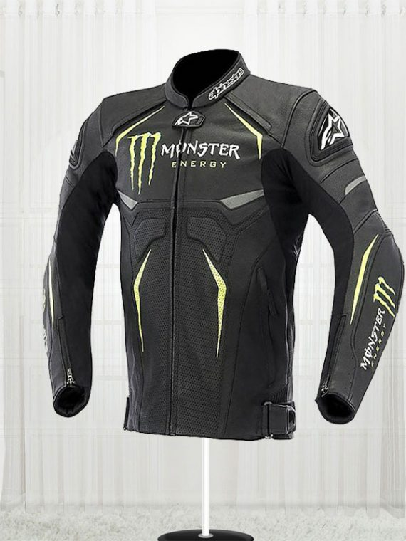 Alpinestars Hellhound Monster Energy Perforated Jacket