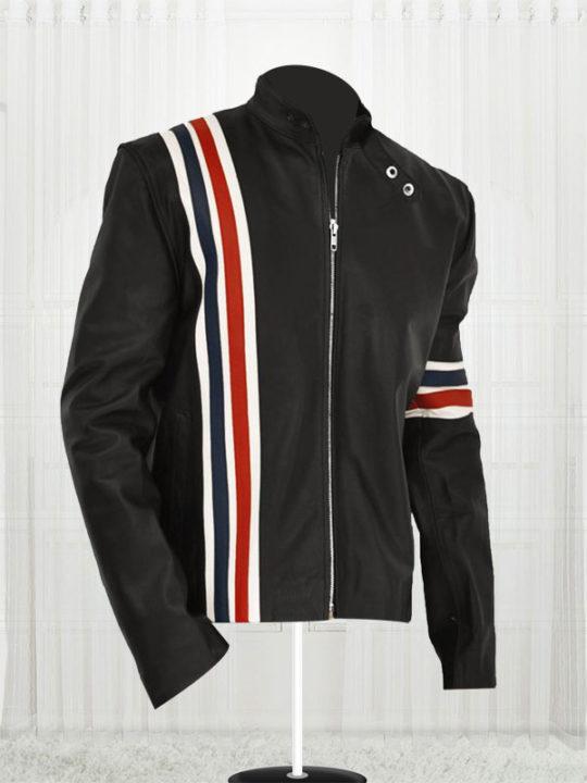 Harley Davidson Leather Jacket Bomber Varsity
