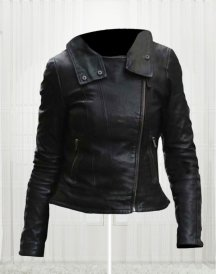 Anna Torv Fringe Leather Jacket