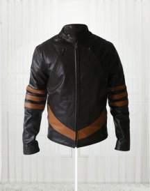 Appealing Hugh Jackman Wolverine X Men Jacket