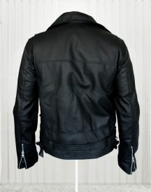 Arnold Schwarzenegger Terminator Movie Biker Black Leather Jackets