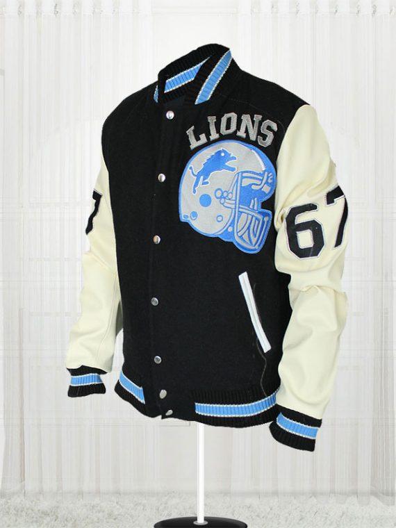 Axel Foley Eddie Murphy Detroit Lions Jacket