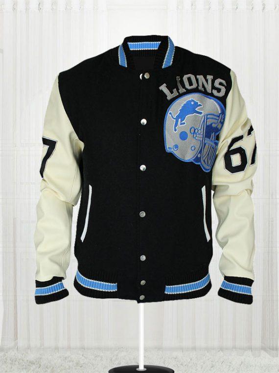 Axel Foley Eddie Murphy Detroit Lions amazing Jacket