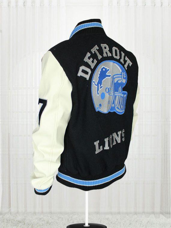 Axel Foley Eddie Murphy Detroit Lions amazing Jacket-side