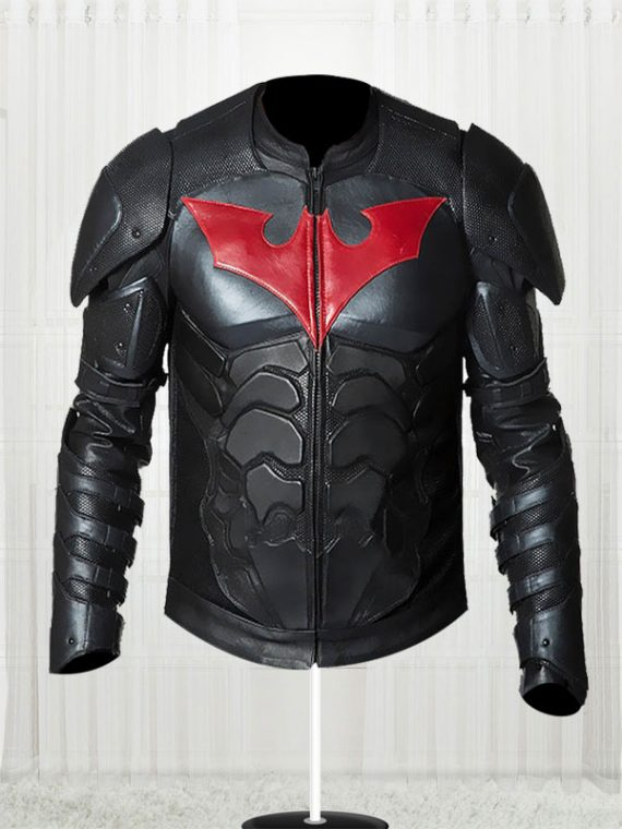 Batman Beyond Black Leather Jacket