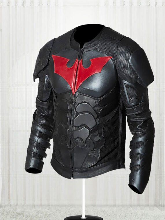 Batman Beyond Men Leather Jacket