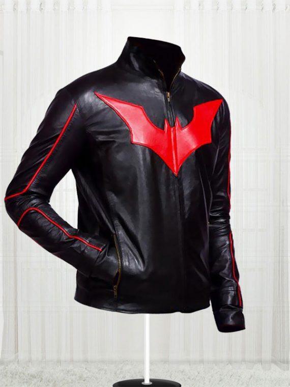 Batman Beyond Men's Leather Jacket