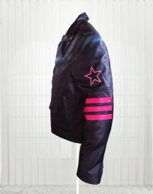 Bret The Hitman Hart WWE Faux Jacket