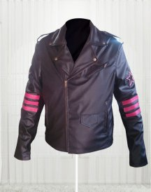 Bret The Hitman Hart WWE Faux Leather Jacket