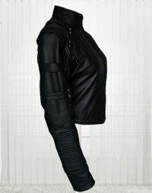 Caity Marie Lotz Arrow Season 2 Black Jacket For Women