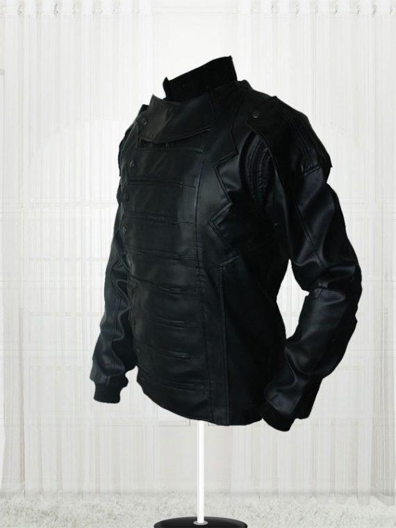 Captain America Elegant Sebastian Stan Bucky Vest Jacket For Men