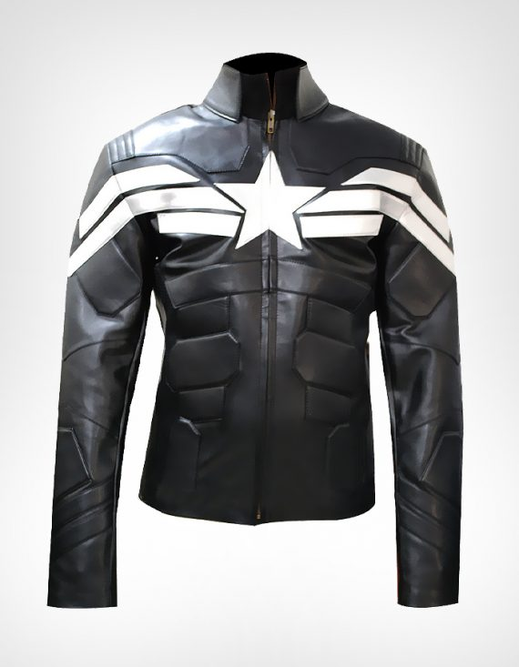 Captain America Winter Soldier black Jacket