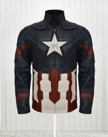 Chris Evans Captain America Civil War Amazing Jacket